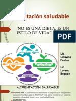 ALIMENTACION Saludable 2019 Charla