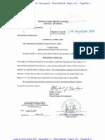 Suzanne E. Muscara Affidavit