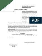 APERSONAMIENTO Y OTRO - JUSTINIANO RODRIGUEZ ROMY ELIZABETH.docx