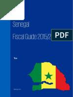 Senegal Fiscal Guide 2015 2016
