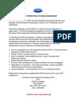 QOS assessment