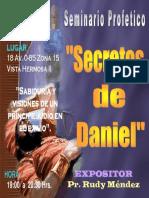 Invitación Seminario Daniel