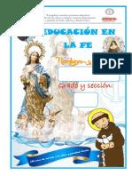 Etiqueta (Pasta ) Cuaderno Educacion en La Fe 2019