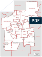 Map of Edmonton ridings