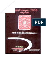 Manual Mini Cooper 1300