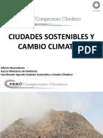 CIUDADES SOSTENIBLES Y CAMBIO CLIMATICO