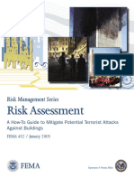 FEMA 452 RISK ASSESSMENT -  A HOW-TO GUIDE TO MITIGATE POTENTIAL TERRORIST ATTACKS AGAINST BUILDINGS.pdf