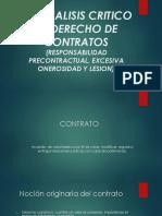 Un Analisis Critico Al Derecho de Contratos