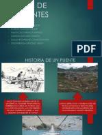Historia de Los Puentes en El Mundo