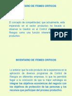 070 Inventario Itemes Críticos