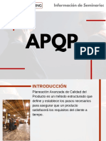 Seminario APQP