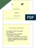 MACD Presentation