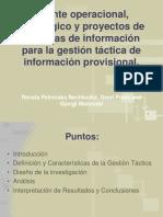 Puente Operacional, Estratégico y Proyectos de Sistemas.