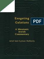 Exegeting Galatians by Ariel Ben Lyman HaNaviy