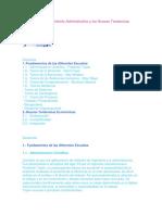 Escuelas Del Pensamiento Administrativo y Las Nuevas Tendencias