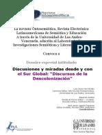 Convocatoria- Dossier Ontosemiotica (2018 - JJCF)