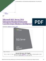 Manual SQL Server 2014