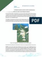 Justificación técnica Dragado Urgencia Manifiesta 2019