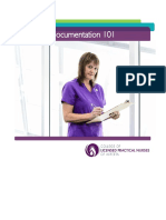 Principles of Nursing Documentation