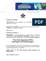 Guia English Evidence Free Trade Agreement