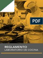 Reglamento Laboratorio de Cocina Normas