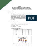 Analisis Data Mandi Kapau Timur