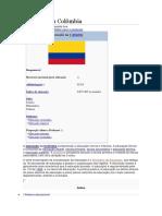 Educação Na Colômbia
