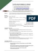 Curriculum Vitae (Tantia Dian Permata Indah)-Final