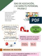 Medidas de asociación, impacto potencial y prueba z