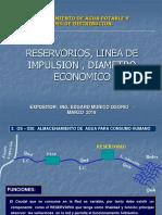 2. Reservorios2c Linea de Impulsion2c Diametro Economico