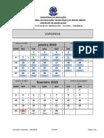 Calendario Graduação 2019 1 VARGINHA2