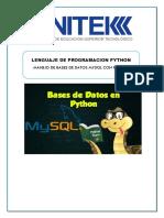 Bases de Datos Con Python