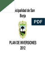 Plan de in Versiones 2012