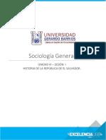 HISTORIA DE LA REPUBLICA DE EL SALVADOR