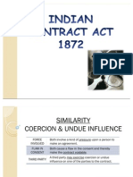 Coercion and Undue Influence