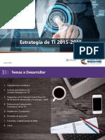 Plan Estrategico Tecnologia de Informacion 2017 v3