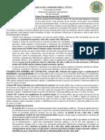 Legislación Agroindustrial y Ética