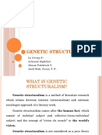 Genetic Structuralism by Group 6