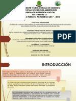 Análisis del consumo de madera en los establecimientos de transformación primaria y secundaria el cantón Quevedo, provincia de Los Ríos.