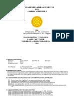 RPS, Silabus dan Kontrak- Analisa Struktur I.pdf