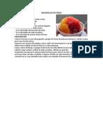 raspadilla de fresa