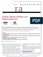Chronic Wound Infection and Antimicrobial Use.10