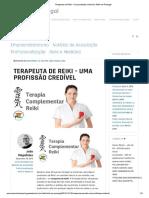 Terapeuta de Reiki - Uma Profissão Credível _ Reiki Em Portugal
