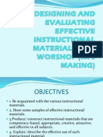 effective instructional materials