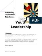 Impact Youth Leadership Overview