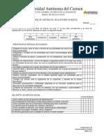 Fo-dss-ss-06 Encuesta de Satisfaccion de Entidad Receptora