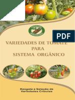 Variedades de tomate para sistema organico