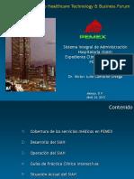 SIAH Expediente Clinico US Foro TI 24abr2013