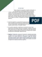 Algoritmo Info II