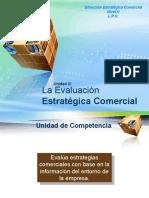Unidad III. La Evaluación Estratégica Comercial